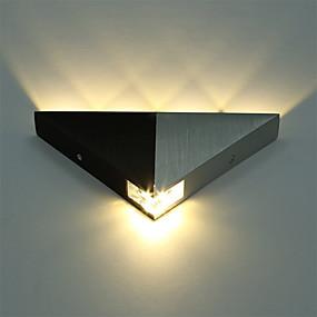 povoljno Lámpatestek-aluminijski suvremeni trokut 5w vodio zid splet svjetiljka unutarnji hodnik up down zid svjetiljka spot svjetlo