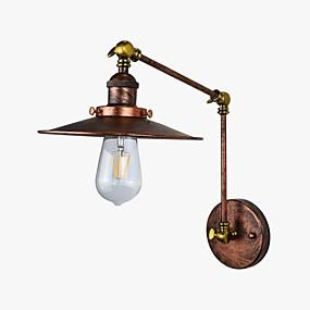 povoljno Lámpatestek-Rustic / Lodge / Starinski / LED Zidne svjetiljke Metal zidna svjetiljka 110-120V / 220-240V 4 W / E26 / E27 / E27