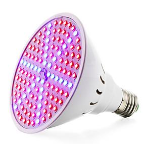 preiswerte LED Pflanzenlampe-wachsen lampen für blühende pflanze und hydroponics system 8w (90rot + 36blau) e27 (85-265v) 780-935lm