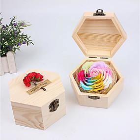 povoljno Praktični poklončići-Vjenčanje / Rođendan / Zabave drven Bath & Sapuni Vrt Tema / Cvjetni Tema / Butterfly Theme - 1 pcs