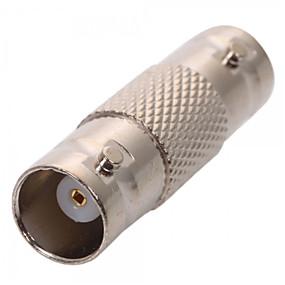 povoljno Sigurnosna oprema-Konektor 10Pcs BNC Female Coax Cable Coupler Adapter Connector for CCTV RG59 RG60 za sigurnosti sustavi 5*12cm 0.005kg