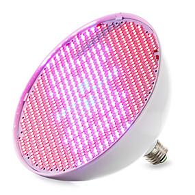 preiswerte LED Pflanzenlampe-1pc 30 W Wachsende Glühbirne 14400-16000M E26 / E27 800 LED-Perlen SMD 2835 Rot Blau 85-265 V / 1 Stück / RoHs / FCC