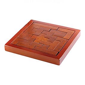 preiswerte Rätselspiele-Holzpuzzle Knobelspiele Kong Ming Geduldspiel Intelligenztest Hölzern 1 pcs Jungen Mädchen Spielzeuge Geschenk