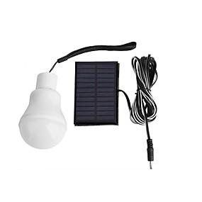 preiswerte Scheinwerfer-Solarlampe betrieben tragbare LED-Lampe Lampe Solarenergie Lampe LED-Beleuchtung Solarpanel Lager Nacht Reisen