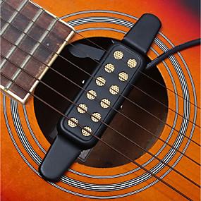 cheap Instrument Accessories-12 Hole Pickup / Transducer / Sound Hole Metal Fun Guitar / Classic Guitar / Acoustic Guitar Musical Instrument Accessories