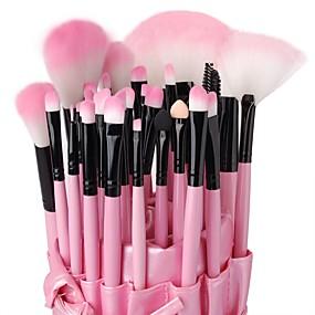 preiswerte Makeup Brush Sets-Professional Makeup Bürsten Bürsten-Satz- 32pcs Hohe Qualität Make-up Pinsel zum Lidschatten Concealer Puder Erröten Schminktäschchen Grundlagen Pinsel Lippenpinsel