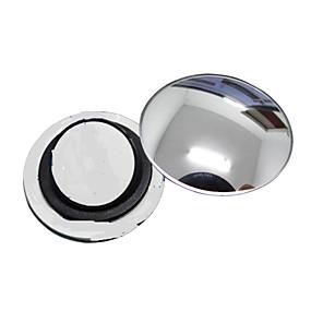 preiswerte Autoteile-ziqiao 1 PC Auto-Rückspiegel kleinen runden Spiegel Weitwinkel einstellbare optische konvexe Oberfläche mit rotierenden Basis
