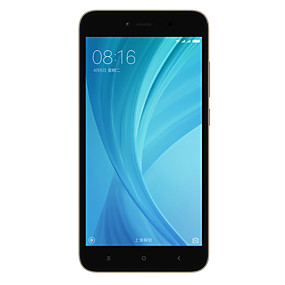 cheap Clearance-Xiaomi REDMI NOTE 5A Global Version 5.5 inch inch 4G Smartphone (3GB + 32GB 16 mp / 13 mp Qualcomm Snapdragon 435 3080 mAh mAh) / 1280x720 / Octa Core / FDD(B1 2100MHz) / FDD(B3 1800MHz)
