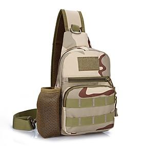 preiswerte Jagdtaschen-8 L Rucksäcke Militärischer taktischer Rucksack Multifunktions Verschleißfestigkeit Außen Yoga Straßenradfahren Bergsteigen Polyester / Baumwolle Khaki Drei Sand-Farbe Digitale Wüste