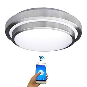 cheap Ceiling Lights & Fans-JIAWEN 35 cm Bulb Included Flush Mount Lights Metal Modern Contemporary 85-265V