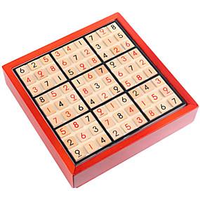 preiswerte Rätselspiele-Bretsspiele Holzpuzzle Knobelspiele Intelligenztest Zahl Hölzern Unisex Spielzeuge Geschenk