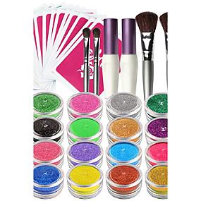 cheap Temporary Paints-1 pcs Face Paint Kits Face Painting Colors Face Painting Stencils Temporary Tattoos Halloween Body Arts Face / Body / Hand