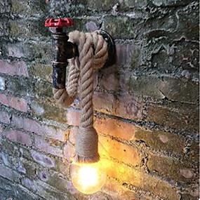 저렴한 벽 스콘-벽 빛 엠비언트 라이트 벽 램프 40W 110-120V 220-240V E26/E27 러스틱/ 롯지 페인팅