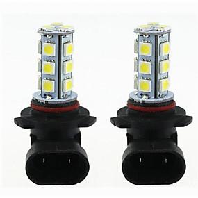 cheap Car Signal Lights-2pcs H11 / 9005 / 9006 Car Light Bulbs 3 W SMD 5050 270 lm LED Turn Signal Light