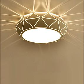 preiswerte Beleuchtung-Einbauleuchten Raumbeleuchtung Lackierte Oberflächen Metall Inklusive Glühbirne 110-120V / 220-240V Wärm Weiß / Weiß