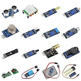 preiswerte Hauptplatine-diy 16 in 1 Sensor-Modul-Kit für Himbeer-PU