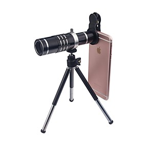 cheap Universal Accessories-Mobile Phone Lens Wide-Angle Lens / Macro Lens / Telephoto Lens Glass 18X Macro iPhone / Samsung / HUAWEI