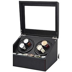 preiswerte Uhrenbox-Uhren Etuis Reperatuwerkzeug & Sets Uhrenaufzug Etuis Leder Uhren Zubehör 30.5*24.5*17.5 2.0