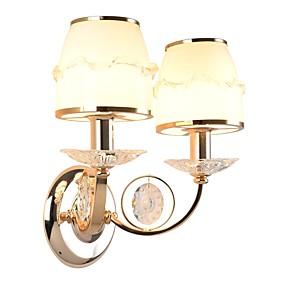 povoljno Lámpatestek-Ecolight™ Kristal Zidne svjetiljke Metal zidna svjetiljka 220-240V 40 W / E14