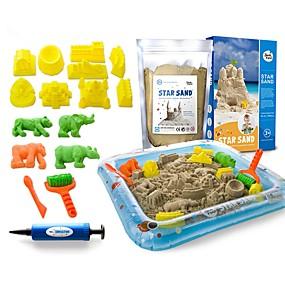 cheap Beach & Sand Toys-Beach Toy Beach Sand Toys Set Water Toys Fun DIY Beach Theme Holiday For Kid's Adults'