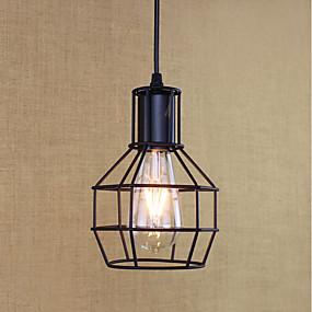 povoljno Viseća rasvjeta-Privjesak Svjetla Ambient Light Slikano završi Metal Mini Style, Bulb Included, dizajneri 110-120V / 220-240V Bulb Included / E26 / E27
