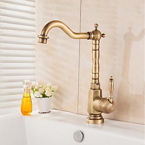 cheap Kitchen Faucets-Kitchen faucet Antique Brass Vessel Antique Kitchen Taps
