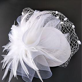 povoljno Melbourne Cup Carnival Hats-Net Fascinators / kape / Šeširi s Cvjetni print 1pc Vjenčanje / Special Occasion / Konjska utrka Glava