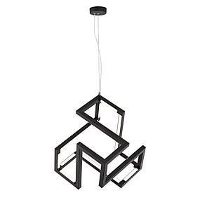 povoljno Lámpatestek-geometrijska privjesna ambijentalna svjetlost oslikana završnom obradom metalna žarulja, proširena 110-120v / 220-240v
