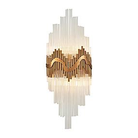 povoljno Lámpatestek-Kristal Jednostavan Modern/Comtemporary Zidne svjetiljke Za Metal zidna svjetiljka 110-120V 220-240V 3W