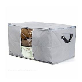 preiswerte Bolsas & Chapéus-Textil / Kunststoff Oval Anti-Wind / Anti-Staub Zuhause Organisation, 1pc Aufbewahrungsbeutel / Schubladen / Schuhbeutel