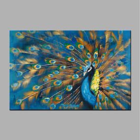 povoljno POP Art-Hang oslikana uljanim bojama Ručno oslikana - Pop art Moderna Bez unutrašnje Frame / Valjani platno