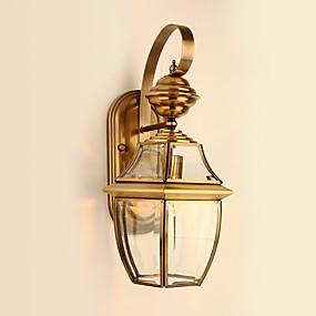 povoljno Lámpatestek-Zemlja Zidne svjetiljke Za Metal zidna svjetiljka 110-120V 220-240V 40W