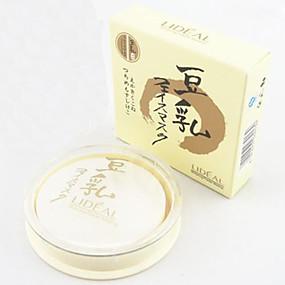 preiswerte LIDEAL-3 Farben Puder Gepresstes Puder Trocken / Schimmer Weiß machen / Concealer Gesicht Bilden Kosmetikum