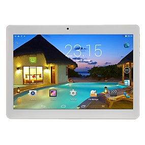 cheap Tablets-10.1 inch Android Tablet (Android 5.1 1280 x 800 Quad Core 2GB+32GB) / 64 / Mini USB / SIM Card Slot / TF Card slot / 3.5mm Earphone Jack