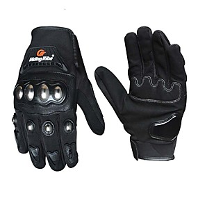 billige Spesialtilbud-ridestamme motorsykkelhansker menn kvinner rustfritt stål skall berøringsskjerm riding motorsykkel hansker guantes moto luvas gants