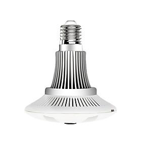 preiswerte VESKYS-veskys® 960p 1.3mp 360-Grad-Fischaugenlinse drahtlose Wi-Fi-Vollansicht Glühbirne ip-Kamera intelligente Glühbirne Licht für zu Hause Sicherheit