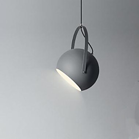 povoljno Lámpatestek-zdjela Privjesak Svjetla Ambient Light Slikano završi Metal 110-120V / 220-240V Bulb not included / E26 / E27