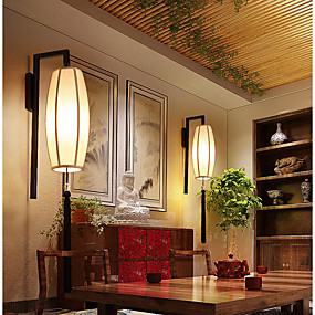 preiswerte Befestigungen für Beleuchtung-Wandlampen Plastik Wandleuchte 220v 40 W / E14