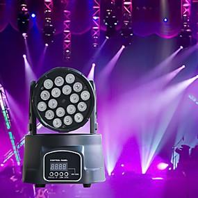 저렴한 무대 조명-U'King LED무대 라이트 LED Par 라이트 DMX 512 마스터 슬레이브 음향 작동 자동 180 용 클럽 웨딩 무대 파티 전문가용 고품질