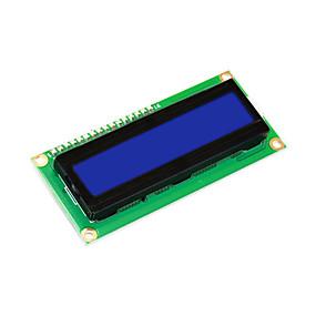 preiswerte Bildschirme-keyestudio 16x2 1602 i2c / twi lcd display module für arduino uno r3 mega 2560 weiß in blau