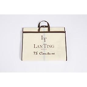 preiswerte Taschen für Hochzeitsgewänder-Hochzeit Hochzeitsschleier Kleidersäcke mit Spitze Prinzessin-Stil