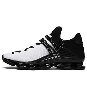 preiswerte Schuhe und Taschen-Herrn Komfort Schuhe Tüll Frühling / Sommer Sneakers Walking Schwarz / Schwarz / weiss / Schwarz / Rot / EU40
