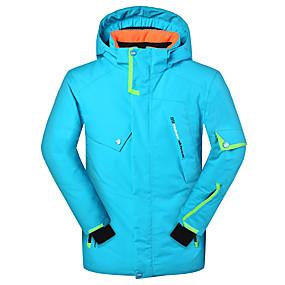 preiswerte Sport & Outdoor-Phibee Jungen Skijacke Windundurchlässig UV-beständig Warm Skifahren Schnee Sport Winter Sport Polyester umweltfreundlich Polyester Jacke Skikleidung