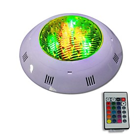 preiswerte Up To 80% Off For Lamps & Lights-Jiawen 12w ip68 wasserdichtes rgb führte UnterwasserSwimmingpoollicht ferngesteuerte Außenbeleuchtung Wechselstrom 12 - 24v