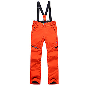 preiswerte Sport & Outdoor-Phibee Herrn Skihosen Wasserdicht Windundurchlässig Warm Skifahren Polyester Hosen / Regenhose Schnee-Trägerhose Skikleidung