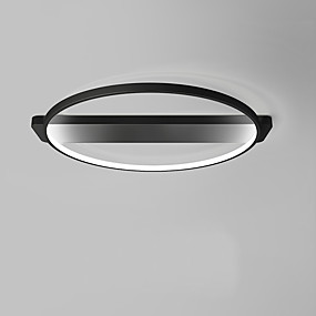 cheap Ceiling Lights & Fans-1-Light OYLYW 40 cm Mini Style / Bulb Included Flush Mount Lights Metal Silica gel Painted Finishes Chic & Modern 85-265V