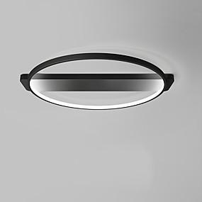 povoljno Stropna svjetla i ventilatori-OYLYW Flush Svjetla Ambient Light Slikano završi Metal silika gel Mini Style, Bulb Included 85-265V Meleg fehér / Bijela