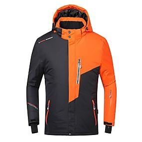 preiswerte Sport & Outdoor-Phibee Herrn Skijacke Wasserdicht Windundurchlässig Warm Skifahren Polyester Warme Oberteile Skikleidung / Winter