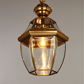 povoljno Lámpatestek-Lusteri Downlight Lakirana bronca Metal Glass Mini Style 110-120V / 220-240V Bulb not included / E26 / E27