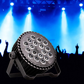 저렴한 무대 조명-U'King LED무대 라이트 / LED Par 라이트 8 DMX 512 / 마스터 슬레이브 / 음향 작동 200 W 용 파티 / 무대 / 웨딩 전문가용